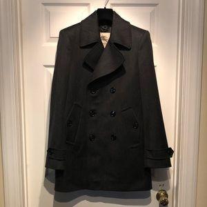 Burberry pea coat 🧥